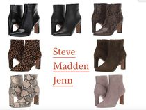 Steve Madden Leopard Patterns Casual Style Blended Fabrics Plain