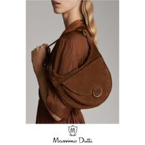 Massimo Dutti 2WAY Leather Shoulder Bags