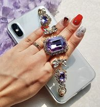 Silicon Handmade With Jewels Smart Phone Cases