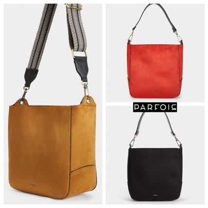 Casual Style Plain Office Style Bags