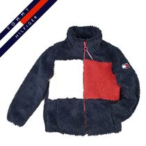 Tommy Hilfiger Short Casual Style Oversized Jackets