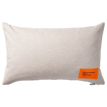 Unisex Collaboration Plain Decorative Pillows