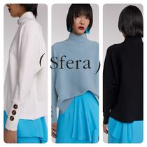 Sfera Casual Style Long Sleeves Medium Elegant Style