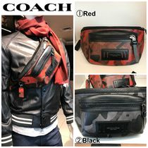 Coach SIGNATURE Camouflage Leather Messenger & Shoulder Bags