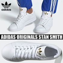 adidas STAN SMITH Unisex Blended Fabrics Street Style Plain Leather Sneakers