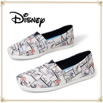Disney Casual Style Slip-On Shoes