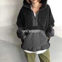 Short Unisex Faux Fur Bi-color Plain Medium Long Oversized