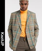 ASOS Other Plaid Patterns Street Style Blazers Jackets