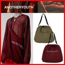 ANOTHERYOUTH Unisex Street Style Shoulder Bags