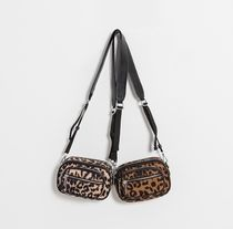 NAIN Leopard Patterns Casual Style Party Style Office Style