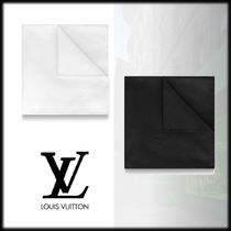Louis Vuitton Silk Plain Handkerchief