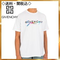 GIVENCHY Street Style Cotton T-Shirts