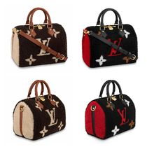 Louis Vuitton SPEEDY Fur Handbags