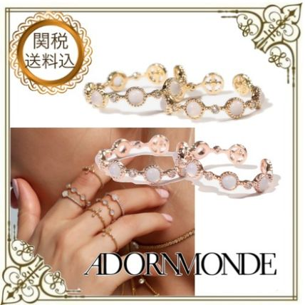 Casual Style Elegant Style Rings