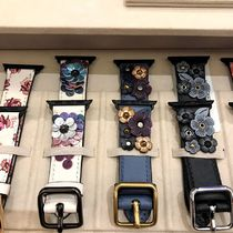 Coach Leather Apple Watch Belt Watches