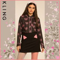 KLING Heart Long Sleeves Shirts & Blouses