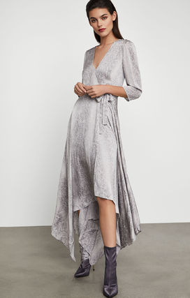 Wrap Dresses Casual Style Party Style Office Style