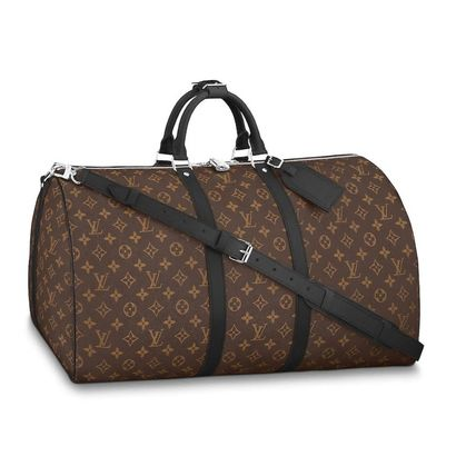 Louis Vuitton MONOGRAM Monogram Canvas A4 2WAY Leather Crossbody Logo