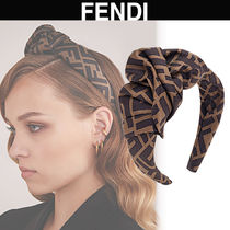 FENDI Casual Style Elegant Style Hair Accessories