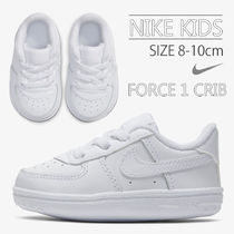 Nike AIR FORCE 1 Unisex Blended Fabrics Street Style Baby Girl Shoes