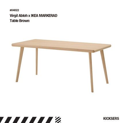 Unisex Street Style Collaboration Wooden Furniture