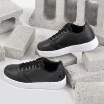 THE NORTH FACE WHITE LABEL Casual Style Unisex Street Style Logo Low-Top Sneakers