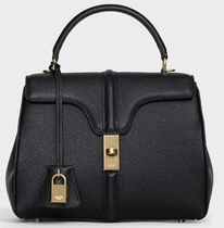 CELINE 16 Casual Style Plain Leather Office Style Elegant Style