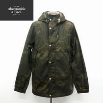 Abercrombie & Fitch Camouflage Street Style Jackets