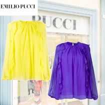 Emilio Pucci Long Sleeves Office Style Shirts & Blouses