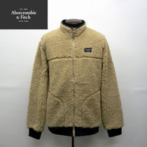 Abercrombie & Fitch Camouflage Street Style Plain Jackets