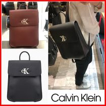 Calvin Klein Casual Style Office Style Backpacks