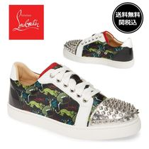 Christian Louboutin Casual Style Street Style Other Animal Patterns Leather