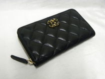 CHANEL TIMELESS CLASSICS Leather Long Wallets