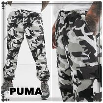 PUMA Camouflage Street Style Cotton Cargo Pants