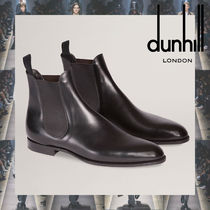 Dunhill Plain Leather Boots