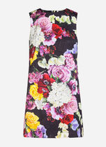 Dolce & Gabbana Flower Patterns Casual Style Sleeveless Cotton Party Style