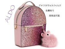 ALDO Casual Style Faux Fur Party Style Elegant Style Backpacks