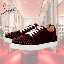 Christian Louboutin Casual Style Other Animal Patterns Low-Top Sneakers