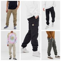 Carhartt Tapered Pants Unisex Street Style Plain Cotton Tapered Pants