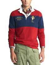 POLO RALPH LAUREN Street Style Long Sleeves Cotton Tribal Polos