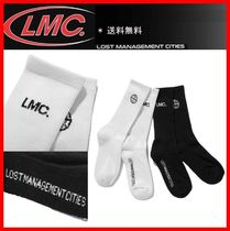 LMC Unisex Street Style Cotton Undershirts & Socks