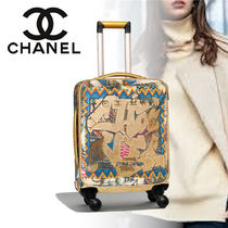 CHANEL TRAVEL Unisex Street Style 3-5 Days Soft Type Carry-on