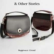 & Other Stories Casual Style 2WAY Leather Shoulder Bags