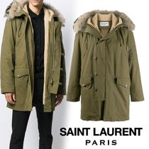 Saint Laurent Plain Parkas