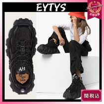 Eytys Square Toe Rubber Sole Casual Style Street Style Plain