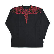 Marcelo Burlon Crew Neck Pullovers Street Style Long Sleeves Cotton