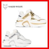 Naked Wolfe Platform Round Toe Rubber Sole Casual Style Unisex