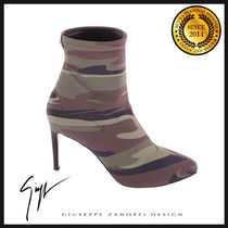 GIUSEPPE ZANOTTI Camouflage Ankle & Booties Boots