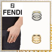 FENDI BAG BUGS Unisex Metal Rings