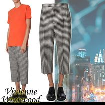 Vivienne Westwood Wool Cropped Pants